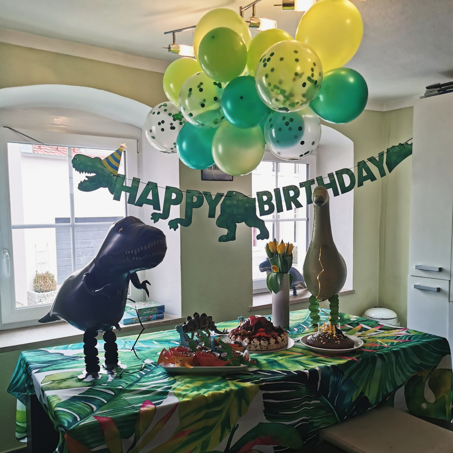 19+ Motto Party Kindergeburtstag Dino Party – MUTTER GEISSLEIN Fotos
